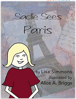 Sadie Sees Paris Illustrated Book How To