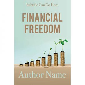 financial freedom, money matters, premade ebook cover