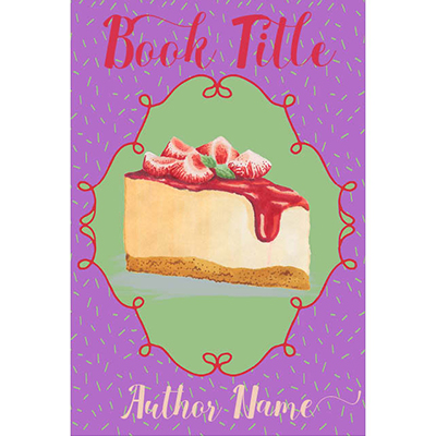 Cake Cozy Mystery Premade Book Cover, Culinary