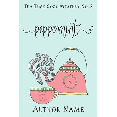 Tea Cozy Mystery Premade Cover Set