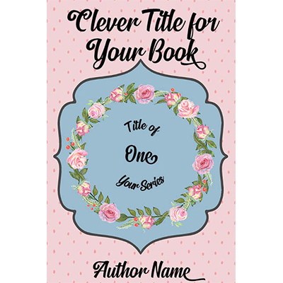 Flower wreath floral cozy mystery devotional women fiction