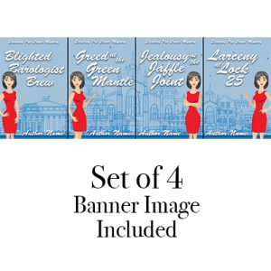 Edinburgh Pub Crawl Cozy mystery red dress set series