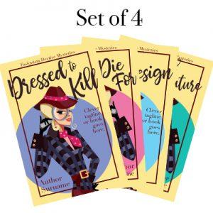 Fashion cozy mystery premade book cover series