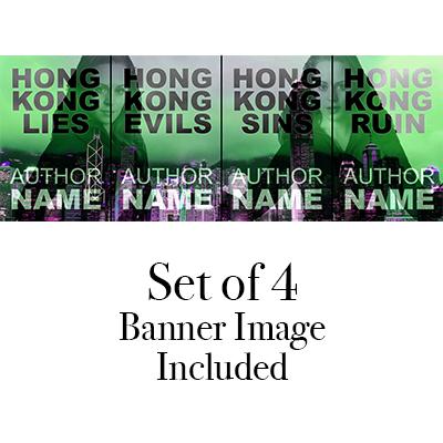 Suspense Hong Kong Mystery Premade cover
