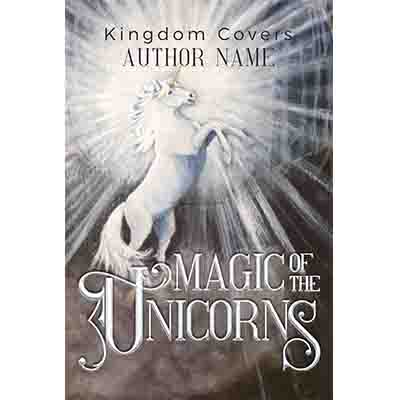 illustrated unicorn book cover
